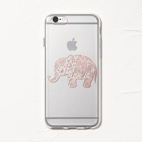 Rose Elephant iPhone 6 Case