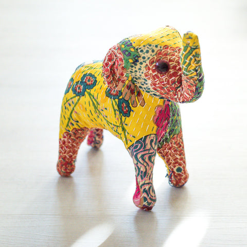 Yellow/Stuffed Elephant