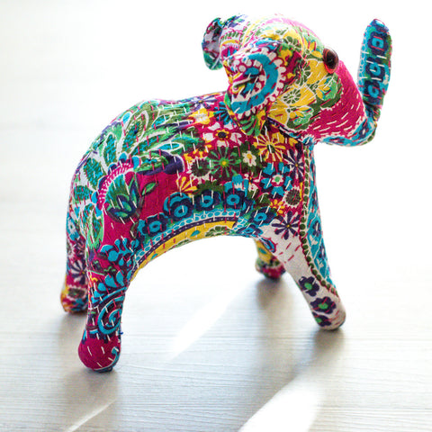 Blue/Stuffed Elephant