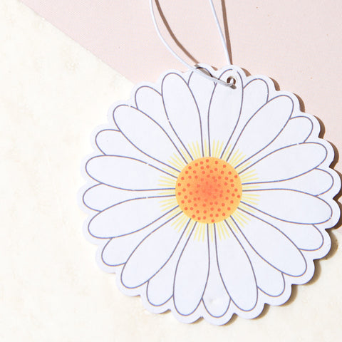 Daisy Car Air Freshener