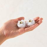 Daisy White  Contact Lens Case