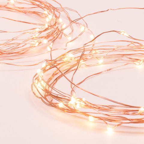 Copper String Lights (Set of 3)