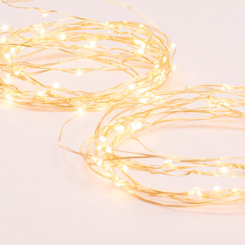 Gold String Lights (Set of 3)