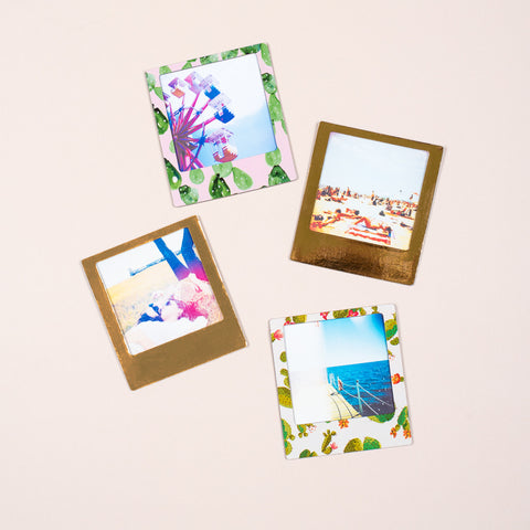 Cactus/Metallic Magnetic Photo Frames