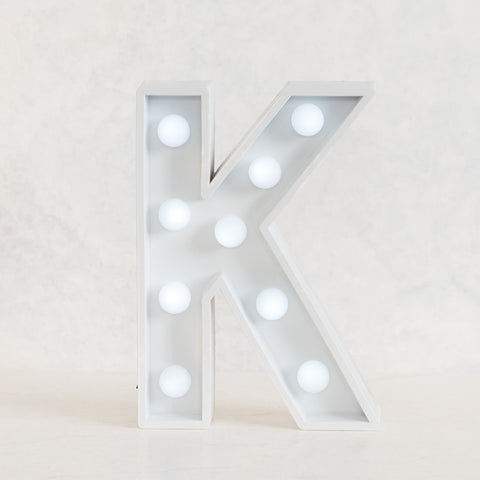 K Initial Marquee Light