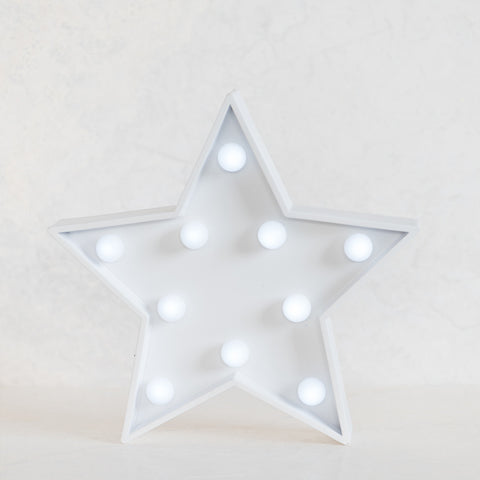 Star White Marquee Light