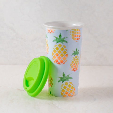 Pineapple Coffee Tumbler