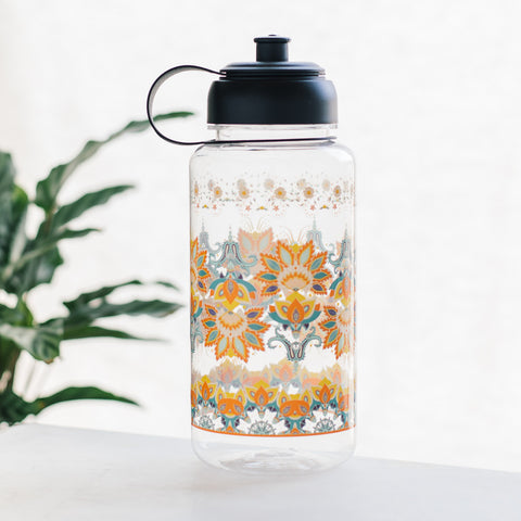 Fleur De Lis Clear Sports Water Bottle
