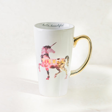 Fierce Unicorn Coffee Mug