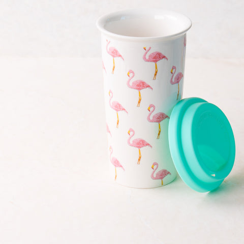 Flamingo Coffee Tumbler