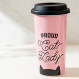 Cat Lady Coffee Tumbler Gift For Cat Lovers