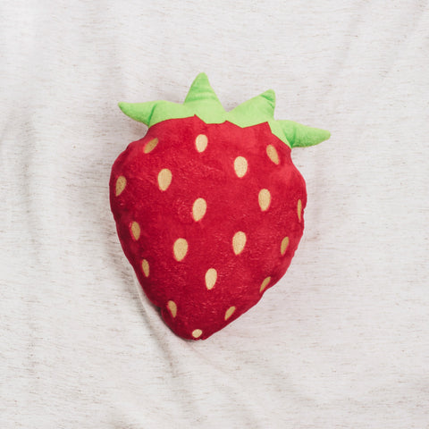Straberry Emoji Pillow
