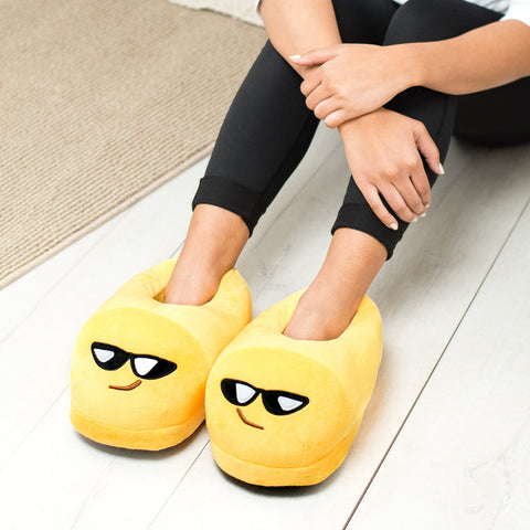 Sunglasses Emoji Slippers