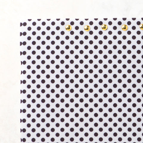 Dots Black Cork board