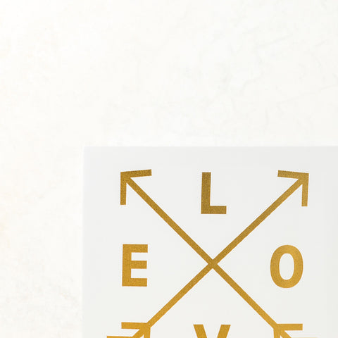 Love Arrows Wall Canvas
