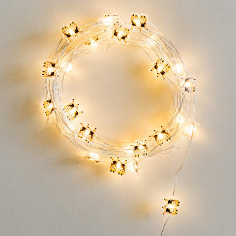 Girl Gang Yellow String Lights