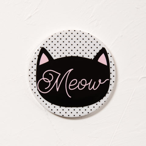 Meow Round Portable Charger/Power Bank