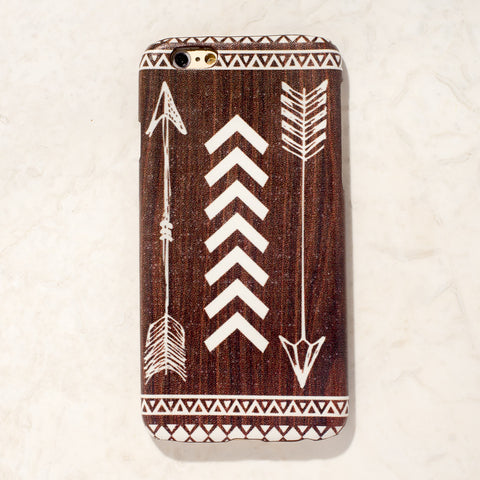 Wooden Arrow Tribal Boho Bohemian iPhone 6S/ 6 case