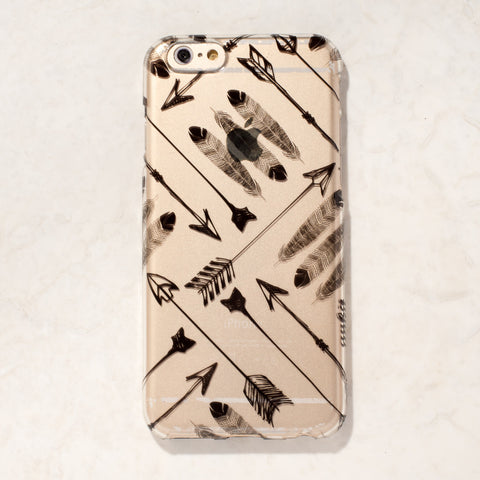 Clear Arrow Tribal Boho Bohemian iPhone 6S/ 6 case