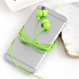 Ankit  Neon Green earbuds