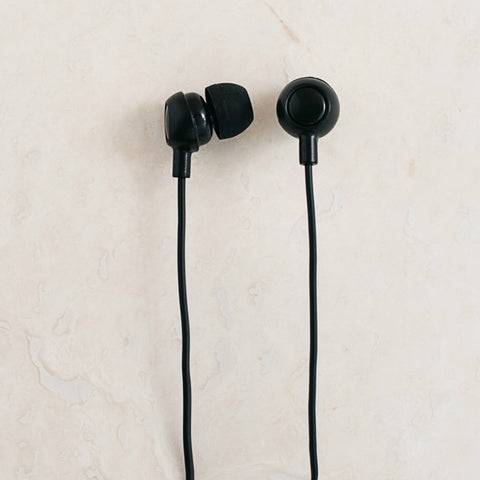 Navy/Gold Berry Earbuds