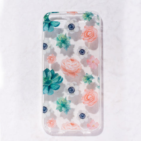Clear Succulents iPhone 6 Case