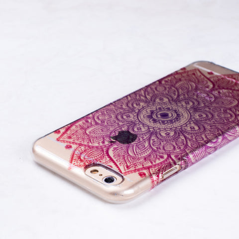Multicolor Flower iPhone 6 Case