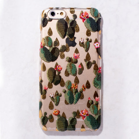 Clear Cactus iPhone 6 Case