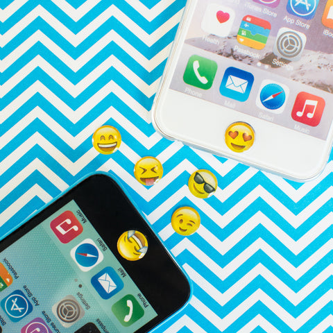 Emoji Home Button Stickers
