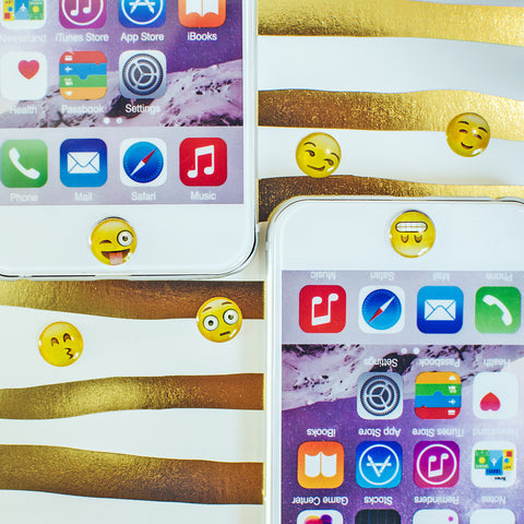 More Emoji Home Button Stickers