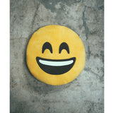 Ankit Smiley Emoji Throw Pillow