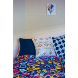 Mandala Fleece Throw Blanket