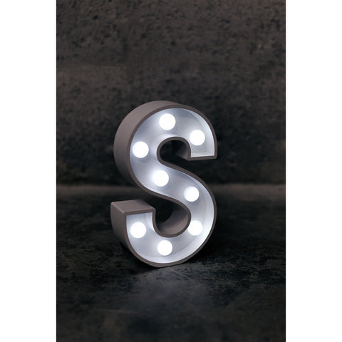 S Initial Marquee Light