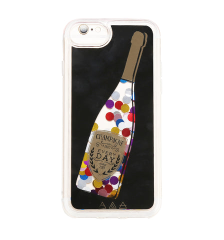 No Bad Days Confetti Glitter Case for iPhone 8 / 7 / 6