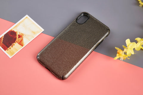 ANKIT Iphone XR  Clear Glitter Case