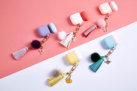 ANKIT Tassel PomPom AirPods Cases