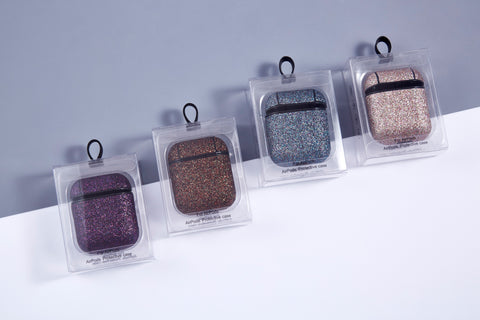 ANKIT  Glitter AirPods Cases with Hook