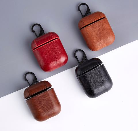 ANKIT Leatherette Clip AirPods Cases