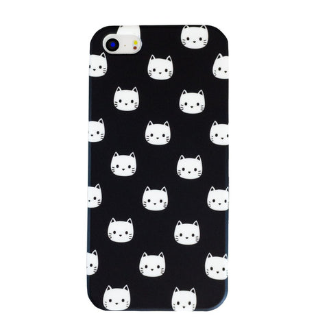 White Cat iPhone 5c