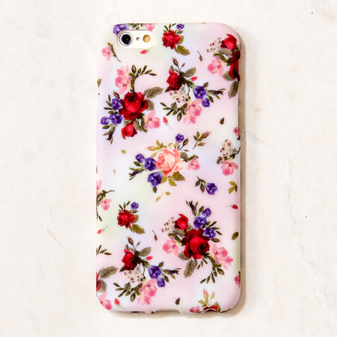 White Floral Bouquet iPhone 6 Case