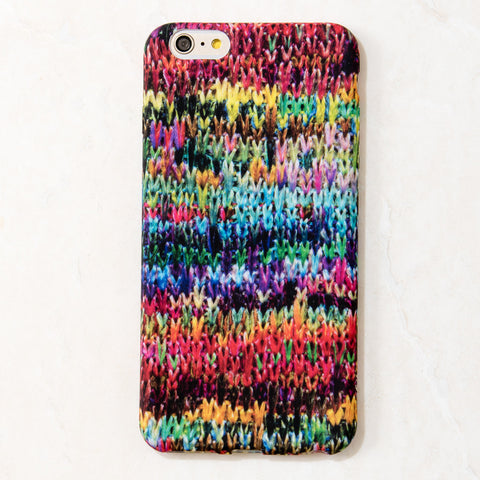 Multicolor Sweater Winter Woolen iPhone 6 Plus case