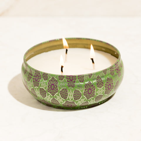 Maldives Scented Tin Jar Candle