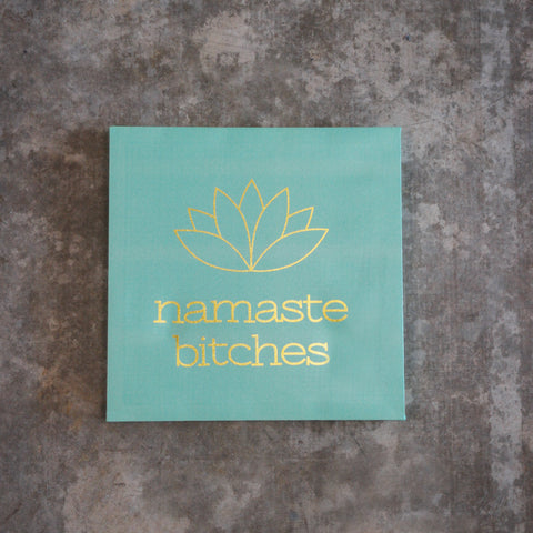 Namaste Wall Canvas