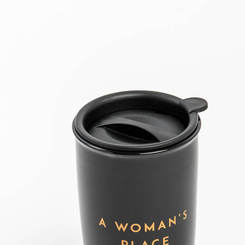 Black Resistance 16 oz Ceramic Tumbler