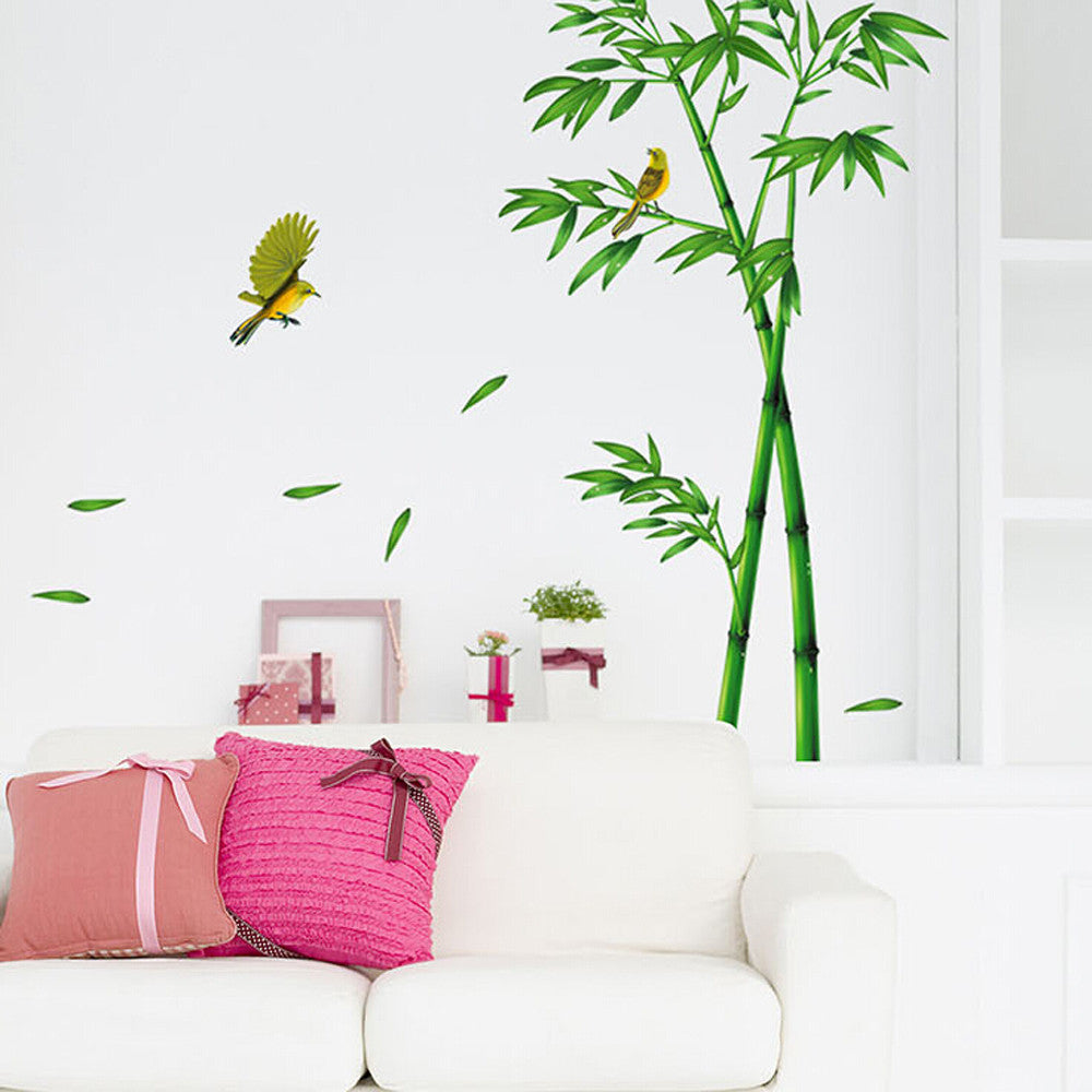 Bamboo Forest 3D Wall Stickers