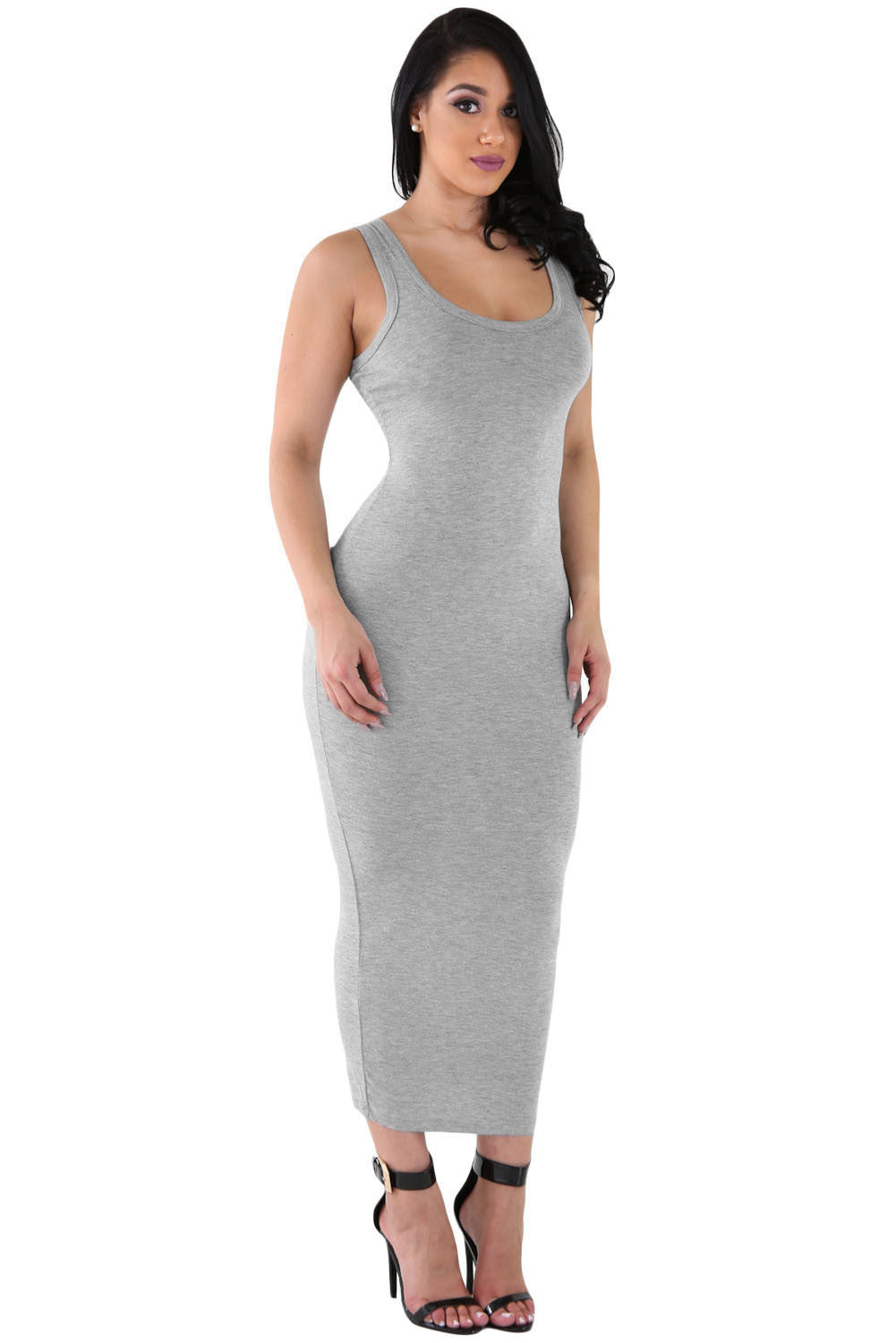 Sexy Sundress Grey