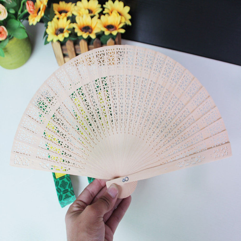 Fragrant Carved Bamboo Fan