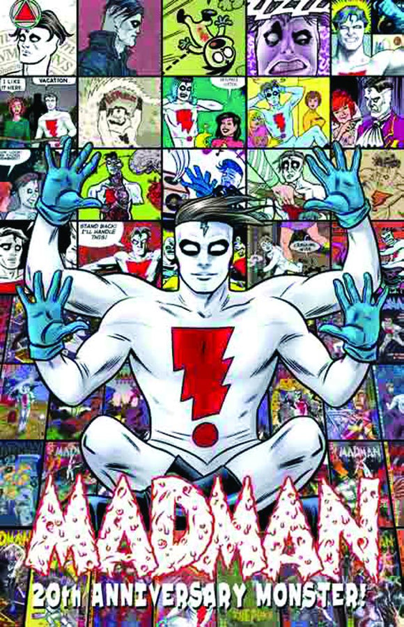 Madman 20th Anniversary Monster HC, signed by Mike & Laura Allred!