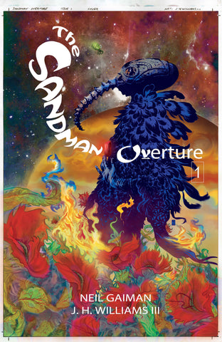 Sandman: Overture HC, signed by Neil Gaiman and J.H. Williams III!