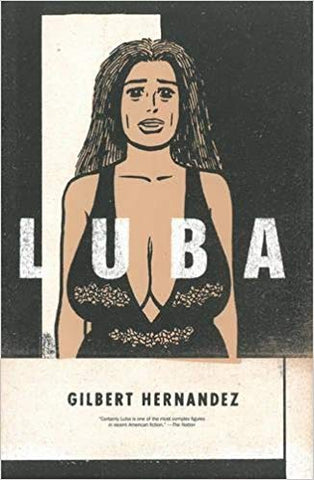 Luba HC, signed by Gilbert Hernandez!